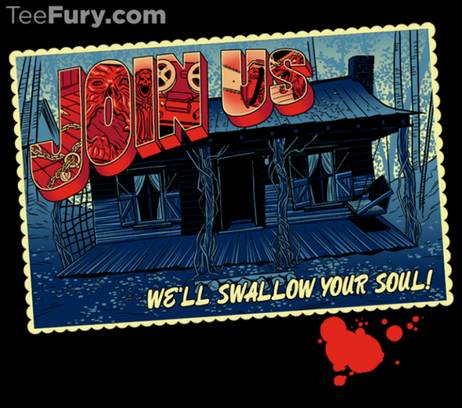 Join Us! Evil Dead Shirt