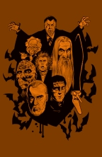 Christopher Lee and the Evil Dead