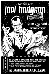 Riffing Myself - Joel Hodgson Poster